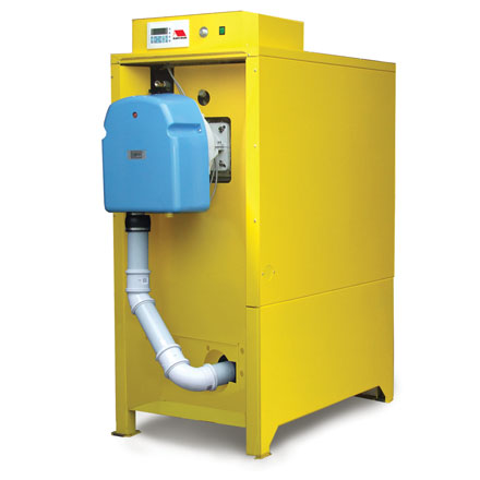 Commercial oil fired and gas fired condensing boilers