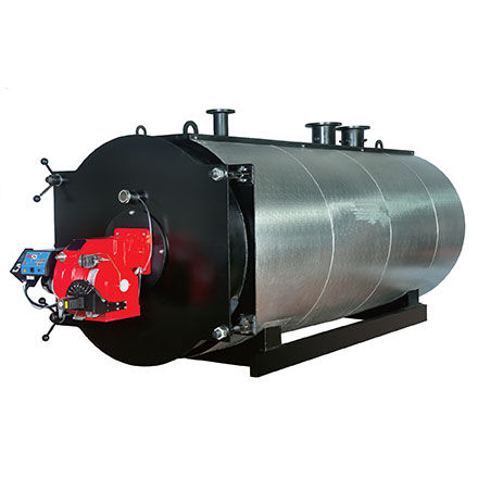 Industrial gas condensing boilers and 3 Pass hot water boilers